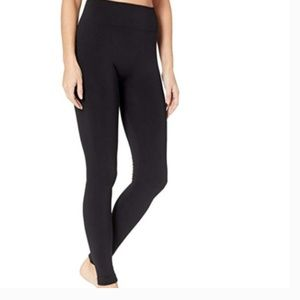 NWT HUE Brushed Seamless Leggings Black S/M